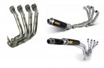 Full exhaust system 3x1 Y.054.S3C OVAL Carbon / Carbon cap