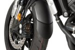 Front fender extension 6160N Negru