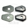 Indicator spacers carbon